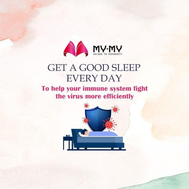 Working late at nights might be good for your work but not for your health.  Have at least 7 - 8 hours of sleep every day to help your immune system fight the virus well. . . . . #getagoodsleep #goodsleep #goodnap #goodnaps #haveagoodsleep #immunitytips #wetrustyou #mymy #mymyahmedabad #staysafe