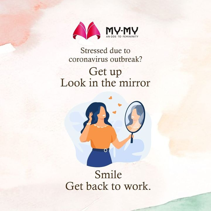 Take a moment and smile.  You will feel better.  #mymy #mymyahmedabad #stayathome #staysafe #protectyourself #protectyourfamily #getup #lookinthemirror #smile #getupandsmile