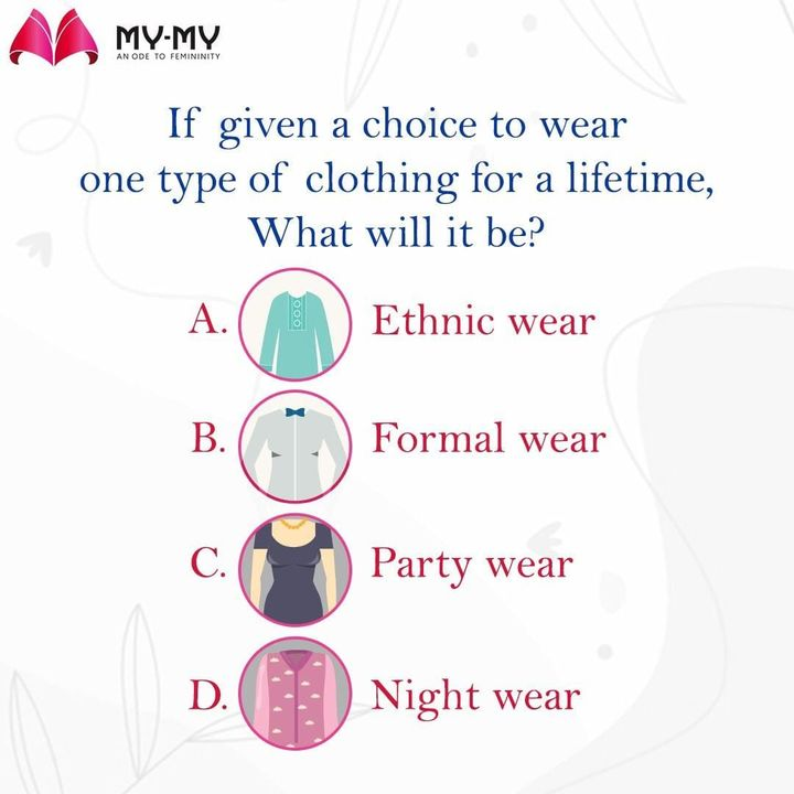 My answer is D. - One who took 8 hours nap this afternoon  Share your answers in the comment section, will read it after a nap. . . . . . #MyMy #MyMyCollection #stylishoutfits  #ethnicwear #partywear #Clothing #Fashion #Outfit #FashionOutfit #summerwear #nightwear #comfywear #formalwear #intimatewear  #swimwearfashion #cosmetics #swimwear #summeroutfits #Style #fashioninahmedabad  #ahmedabadclothing #ahmedabadfashion #gujaratfashion #WomensFashion #Ahmedabad #SGHighway #SGRoad #CGRoad