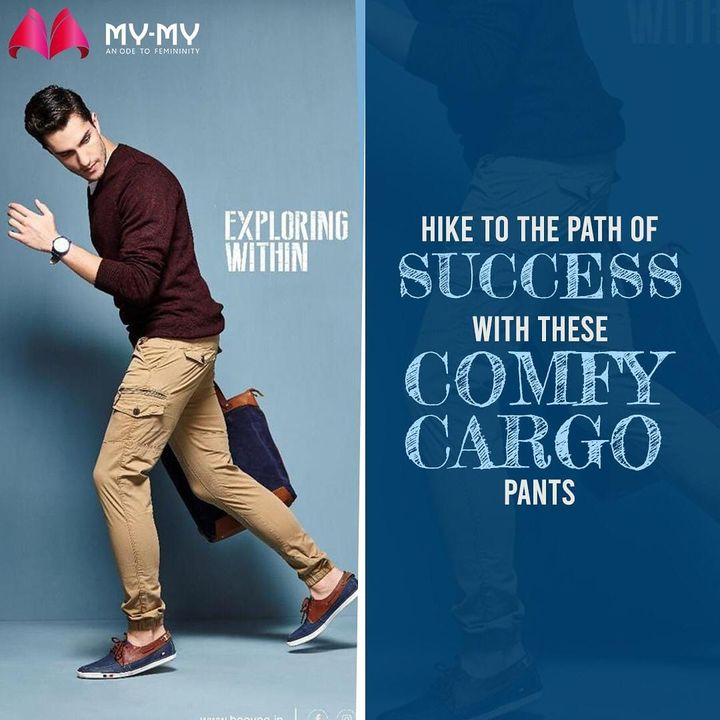 Every midweek is mixed with emotions of working hard and giving up.  Hope these Cargo pants from Bee Vee India will ease your walk on this uneven road.  Shop now from your nearest My-My store! . . . . #cargopants #cargopant #cargo #cargowear #mensbottoms #menswear #MyMy  #casualwear #casualwears #intimatewear  #swimwearfashion #swimwear #summeroutfits  #fashioninahmedabad  #ahmedabadclothing #ahmedabadfashion #gujaratfashion #WomensFashion #Ahmedabad #SGHighway #SGRoad #CGRoad