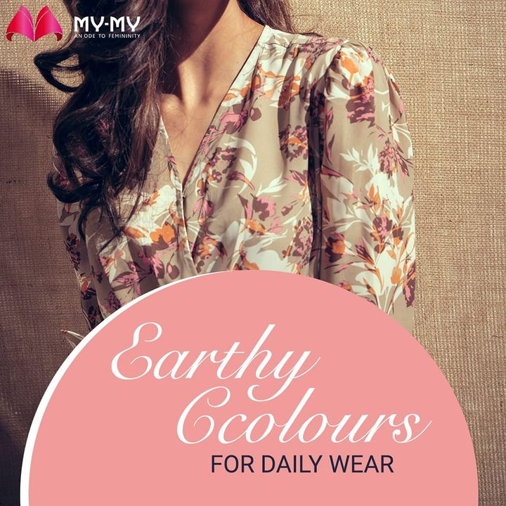 Earthy colours give out positive aura throughout the day, make sure your daily wardrobe has it🤎  Shop your choice of style from the latest collection at My-My store!🛍️  #womenclothing #fashionble #fastfashion #trendyclothes #trending #comfyclothes #practicalfashion #fashiontrends2021 #womensfashion #shoplocal #discountshopping #trendywomenwear #modernwear #fashion #ahmedabad #mymy #mymyahmedabad #gujaratfashion #ahmedabadfashion #ahmedabadclothing #CGRoad #SGHighway #SGRoad