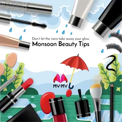 Stay beautiful this monsoon with our skin and hair care tips!  Our friendly and knowledgeable staff can help you pick the best products to keep you glowing this season. Visit your nearest My-My shop located at C.G. Road and S.G. Highway.  #MyMyAhemdabad #BeautyDestination