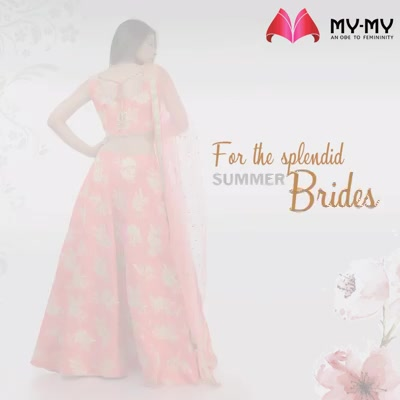 In search of some #bridalinspo for your #summerweddings? Here it is!   #MyMy #MyMyAhmedabad #Fashion #Ahmedabad