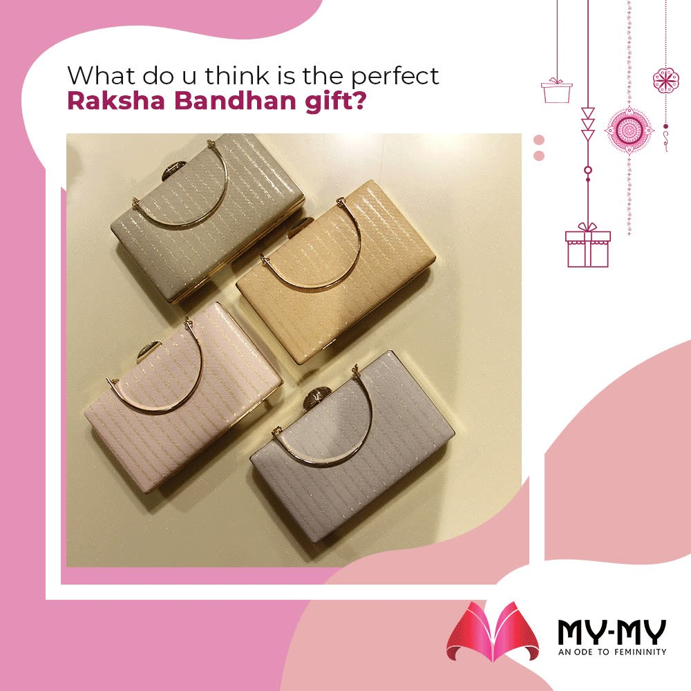 What do u think is the perfect Raksha Bandhan gift?   #SuperStylishSale #Sale #MyMySale #Sale2019 #MyMy #MyMyCollection #ExculsiveEnsembles #ExclusiveCollection #Ahmedabad #Gujarat #India