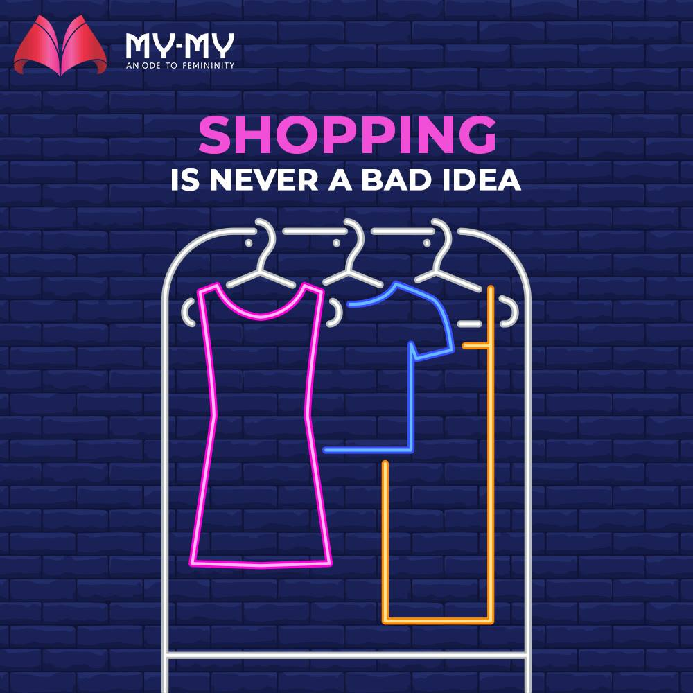 Heart it if you too are a shopaholic!   #MyMy #MyMyCollection #ExculsiveEnsembles #ExclusiveCollection #Ahmedabad #Gujarat #India