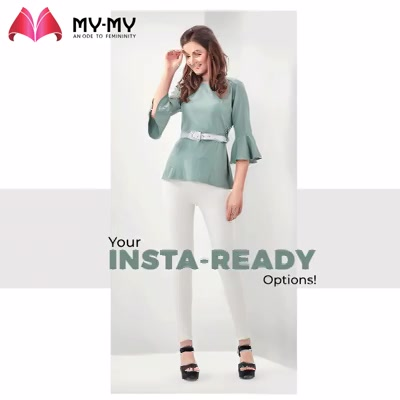 Take a screenshot of your favorite pick & share us the same into the comment section!   #MyMy #MyMyCollection #femalefashion #womensstyle #studentfashion #womensfashionwear #urbanfashion #fashionmotivation #womenclothingstore #womensfashionrange #womensurbanfashion #fashion #vogue #clothes #ExculsiveEnsembles #ExclusiveCollection #Ahmedabad #Gujarat #India