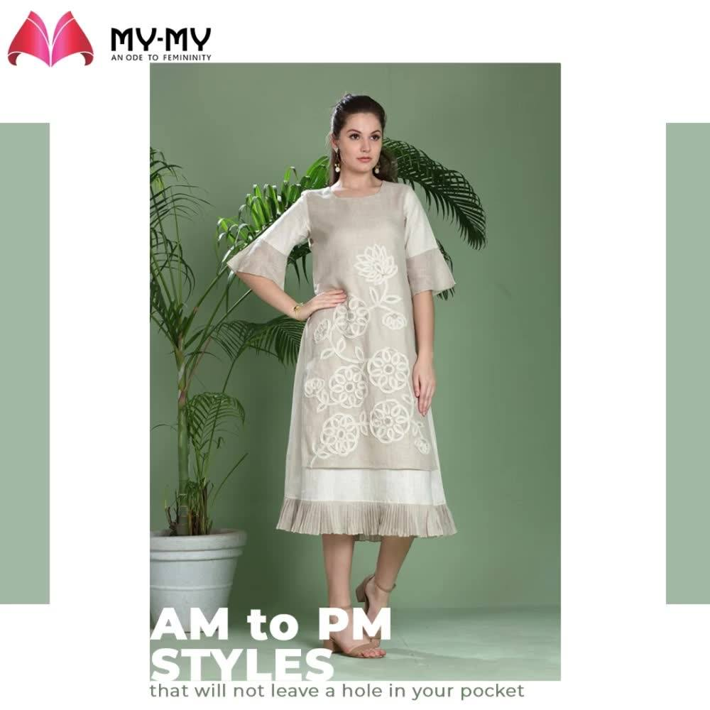 Be it a party, meeting, brunch with girlfriends or an event to attend, these all-rounders edits will surely WOW your persona!  #MyMy #MyMyCollection #ExculsiveEnsembles #ExclusiveCollection #Ahmedabad #Gujarat #India