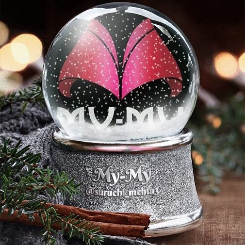 Thank you @suruchimehtaz for this beautiful creative! We love snow globes!  #MyMyAhmedabad