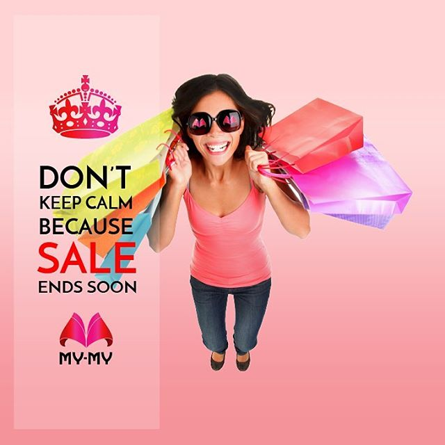 The My-My Once-A-Year sale ENDS SOON! Grab great deals cosmetics, inner-wear, handbags, and more!  Visit your nearest My-My shop located at C.G. Road and S.G. Highway.  #MyMyAhmedabad #Sale2017