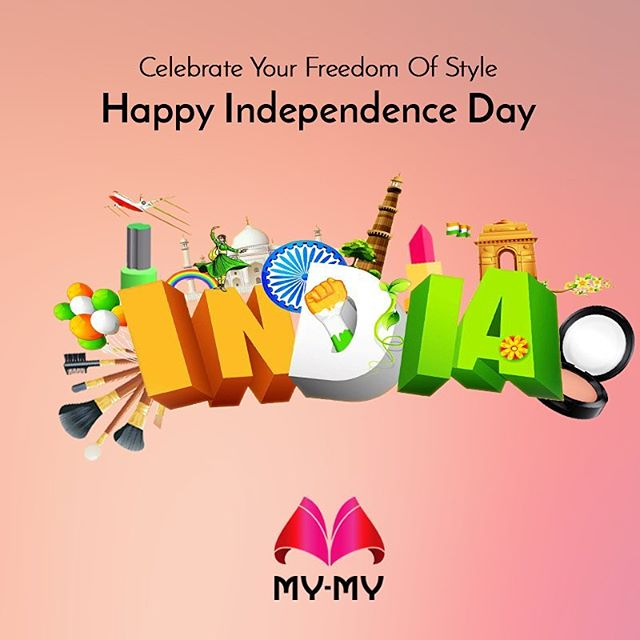 This Independence Day, celebrate freedom, beautifully!  Happy 15th August!  #MyMyAhmedabad #IndependenceDay