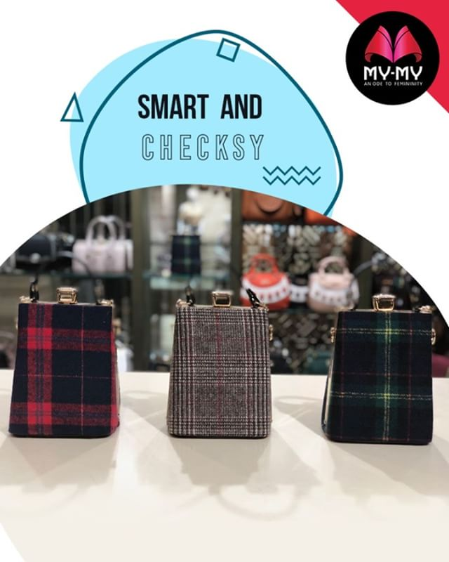Which one is your kind of checks style!  #Style #CurrentTrend #NewTrend #MyMyAhmedabad #FemalelFashion #Fashion