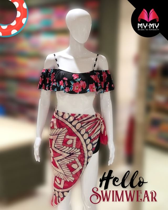 Travelling to a beach destination? Stock onto your swimwear from My-My  #SwimWear #WomenFashion #Style #CurrentTrend #NewTrend #MyMyAhmedabad #Fashion