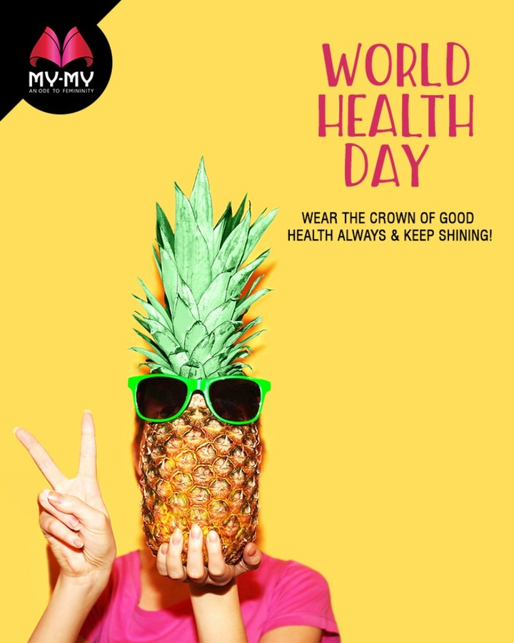 Wear the crown of good health always & keep shining!  #WorldHealthDay #GoodHealth #HealthDay #HealthIsWealth #HealthForAll #MyMyAhmedabad #Fashion