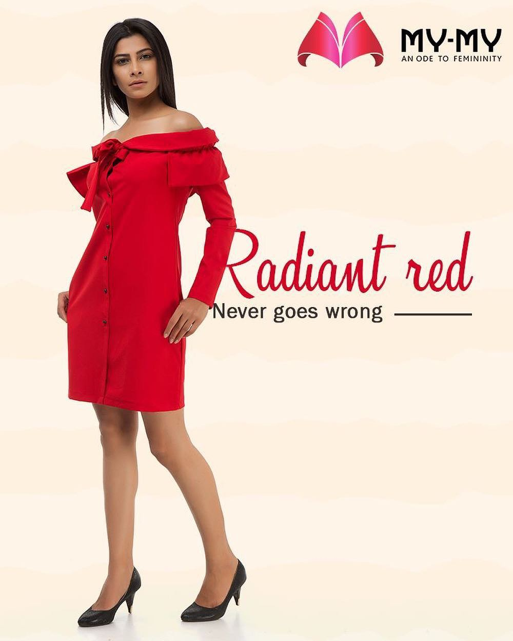 Isn't #RED always the right choice?  #SummerWardrobe #MyMy #MyMyAhmedabad #Fashion #Ahmedabad
