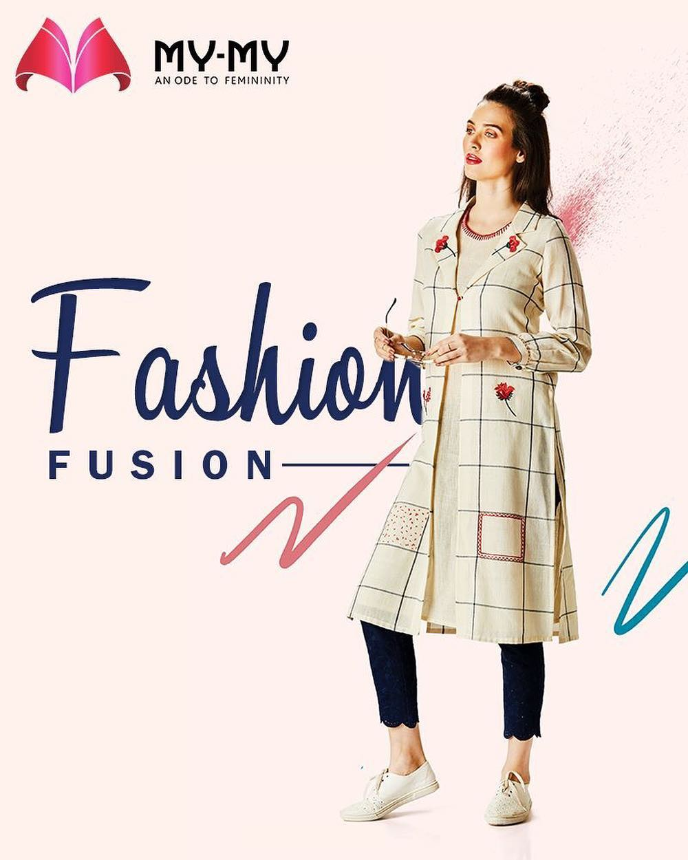 Wear your boss babe attitude on! The best fashion fusion summer outfits now at My-My!  #SummerWardrobe #MyMy #MyMyAhmedabad #Fashion #Ahmedabad