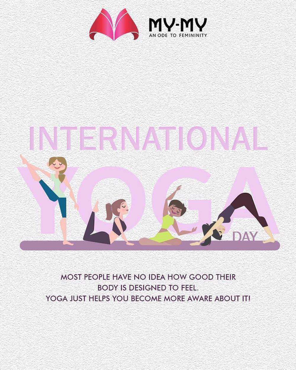 My-My,  Yoga!, YogaDay, YogaDay2018, InternationalYogaDay, MYMYAhmedabad, FemaleFashion