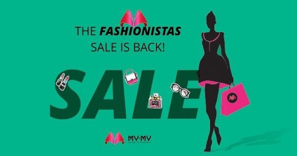 The Fashionistas Sale is back.  #Sale #Fashion #Fashionista