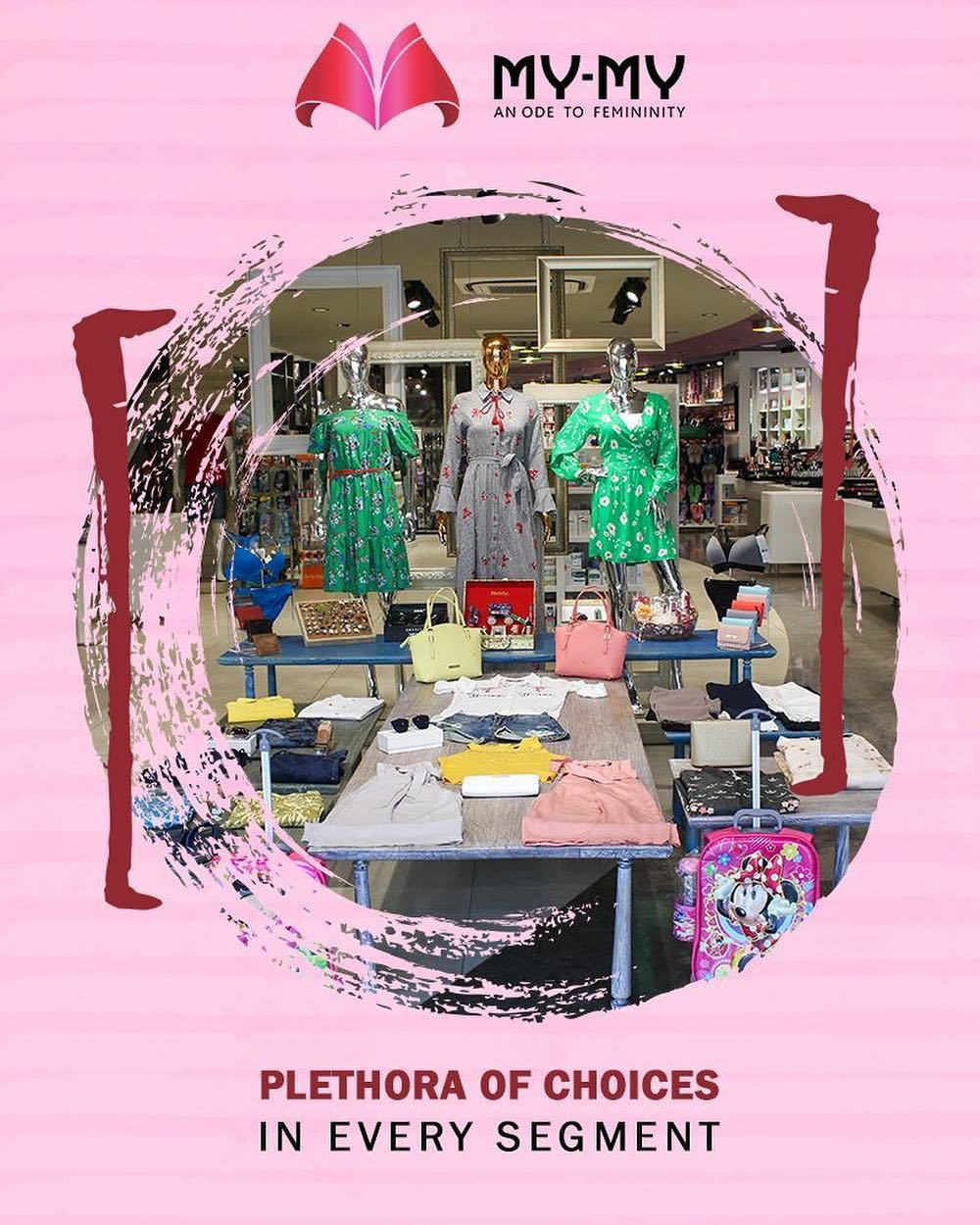 Our aim is to spoil you for choices for all your fashion needs!  #MYMYSale #MyMy #MyMyAhmedabad #Fashion #Ahmedabad #FemaleFashion