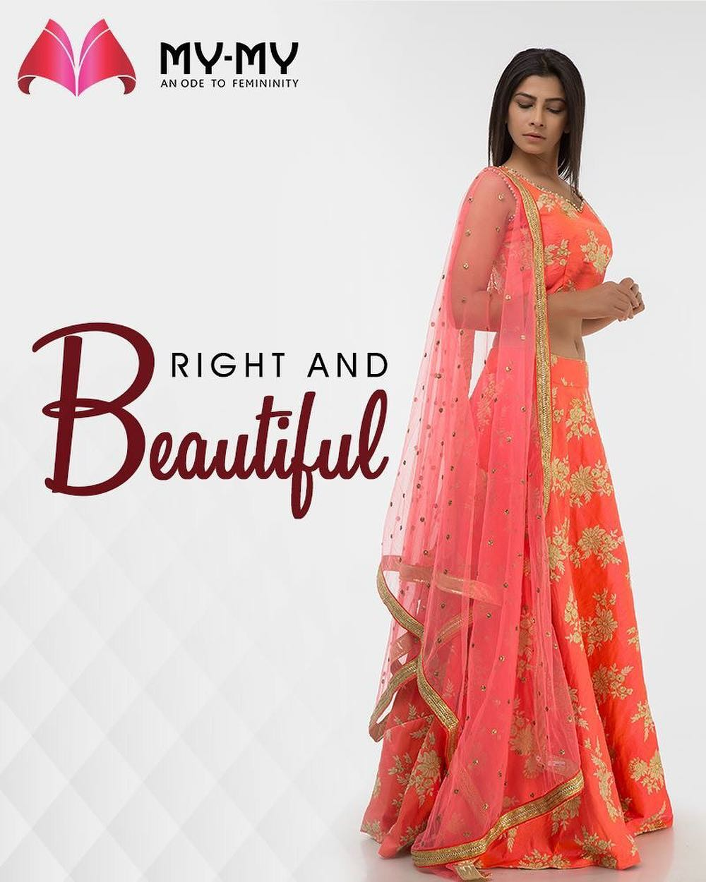 Are you ready to look graceful this #Rakhi? Here's what our outfits do for you!  #FemaleFashion #Style #SummerWardrobe #MyMy #MyMyAhmedabad #Fashion #Ahmedabad