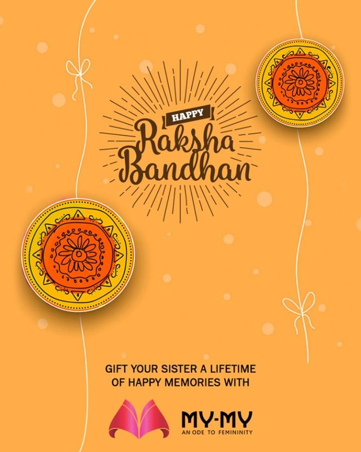 Gift your sister a lifetime of happy memories with My-My.  #HappyRakshaBandhan #RakshaBandhan #RakshaBandhan2018 #MyMy #MyMyAhmedabad #Fashion #Ahmedabad