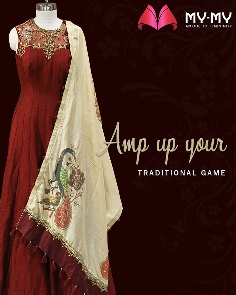 My-My is your one-stop destination for the best traditional ensembles!  #MyMyAhmedabad #Fashion #Ahmedabad #FemaleFashion