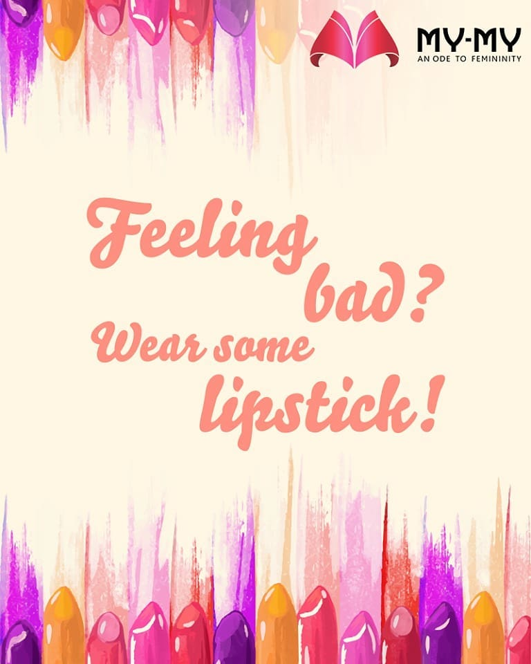 There's nothing a great lipstick can't fix! Try it this #weekend XOXO  #MyMyAhmedabad #Fashion #Ahmedabad