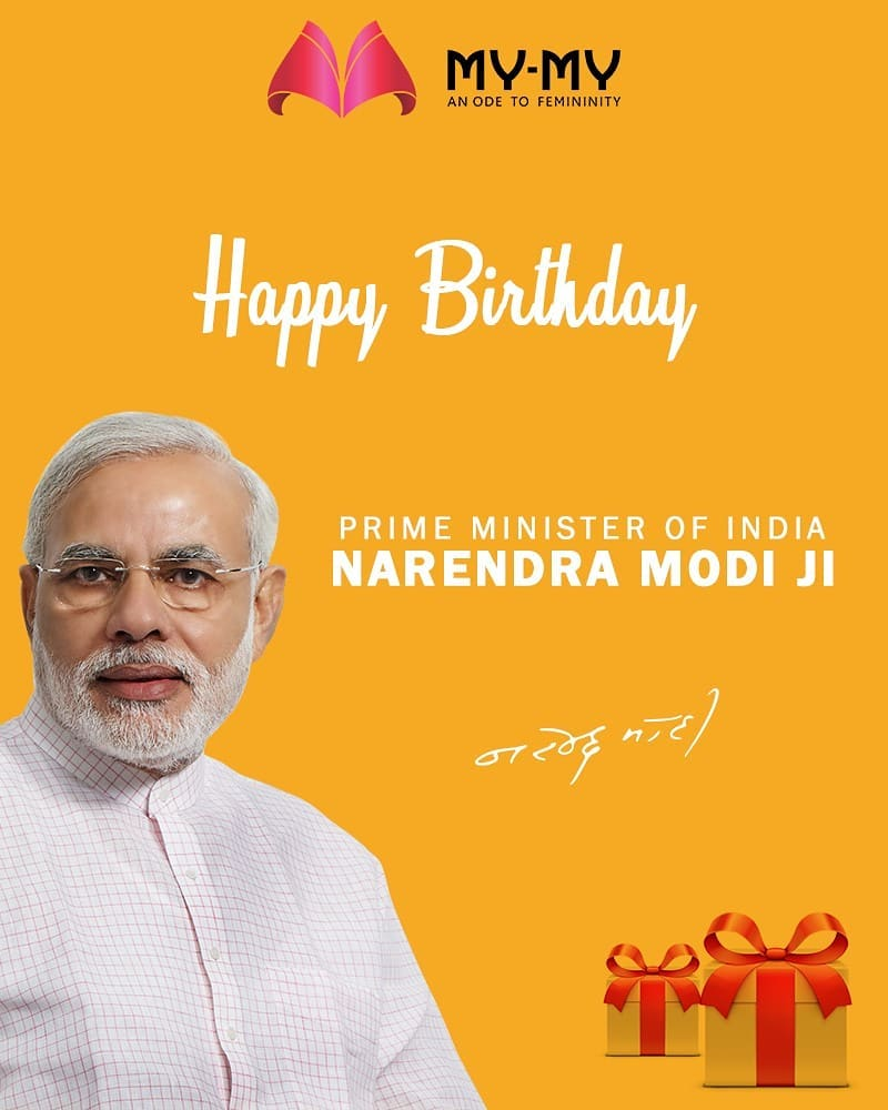 Happy Birthday to the Honorable Prime Minister Narendra Modiji  #HappyBdayPMModi #HappyBirthDayPM #NarendraModi #NAMO #MyMyAhmedabad #MakeUp #BeFashionable #Fashion #Ahmedabad