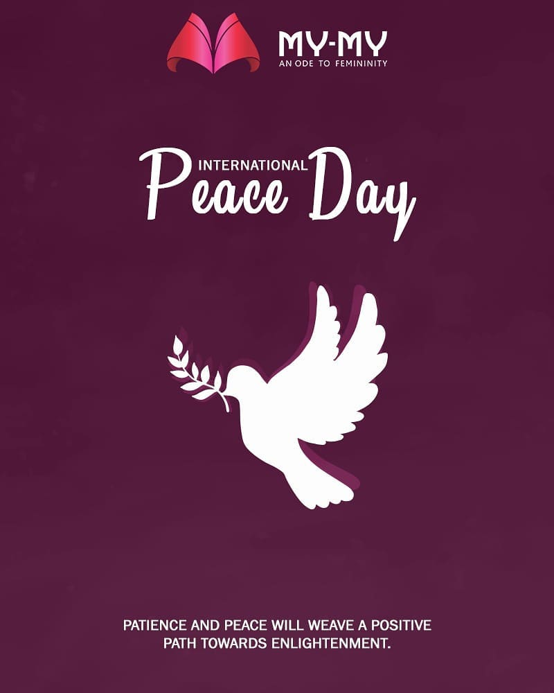 My-My,  InternationalDayOfPeace, PeaceDay, WorldPeaceDay, PeaceDay2018, MyMy, MyMyAhmedabad, Fashion, Ahmedabad, Makeup