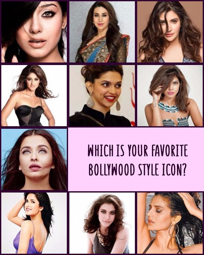 Who from the current Bollywood brigade is your style icon?  #MyMy #FashionTrends #styletrends #MyMyAhmedabad #Fashion #AhmedabadFashion #Bollywood #styleion #priyankachopra #deepikapadukone #aishwaryaraibachchan #katrinakaif #kajol #karishmakapoor