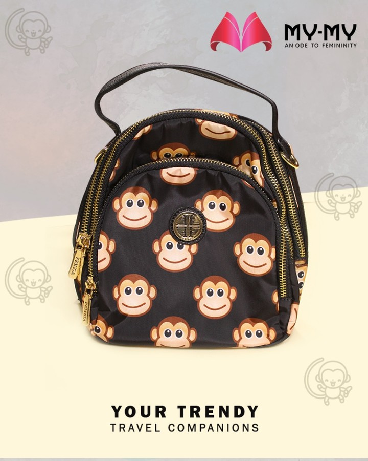 Gear up for your travels with trendy travel companions  #Weekend #Travel #TravelCompanions #MyMy #FashionTrends #MyMyAhmedabad #Fashion #Ahmedabad