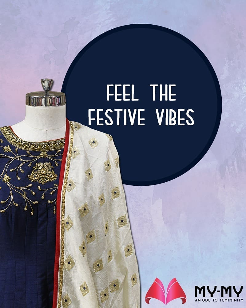 We're already feeling the festive vibes! How about you?  #MYMYStore #Fashion #FestiveShopping #Shopping #FashionStore #Gujarat #India #Travel #ShoppingForVacations