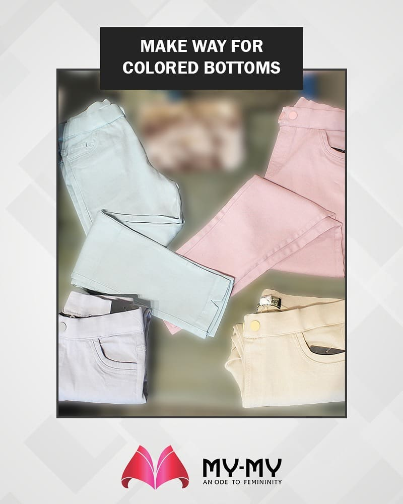 Are you a fan of colored bottoms? Make way to My-My!  #MYMYStore #Fashion #Shopping #FashionStore #Gujarat #India #Travel