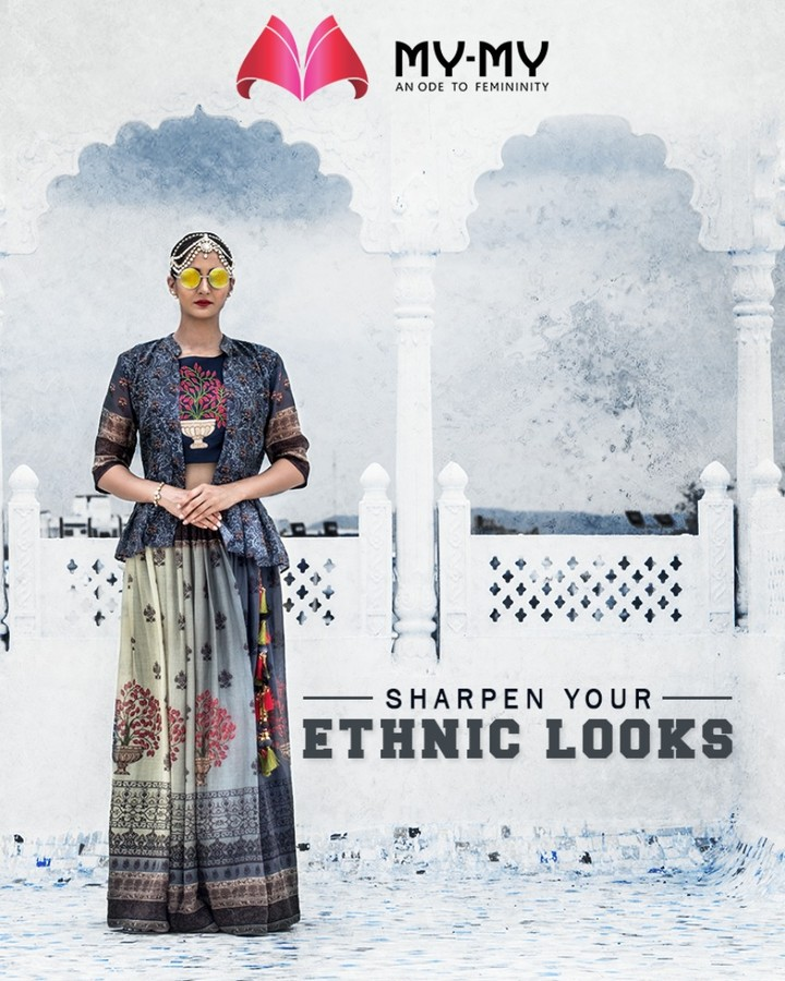 Take a look at My-My traditional galore to sharpen your ethnic look in the royal way!  #TraditionalGalore #EthnicLook #EthnicWear #Ultraomoderncollection #MyMy #MyMyCollection #ExculsiveEnsembles #ExclusiveCollection #Ahmedabad #Gujarat #India