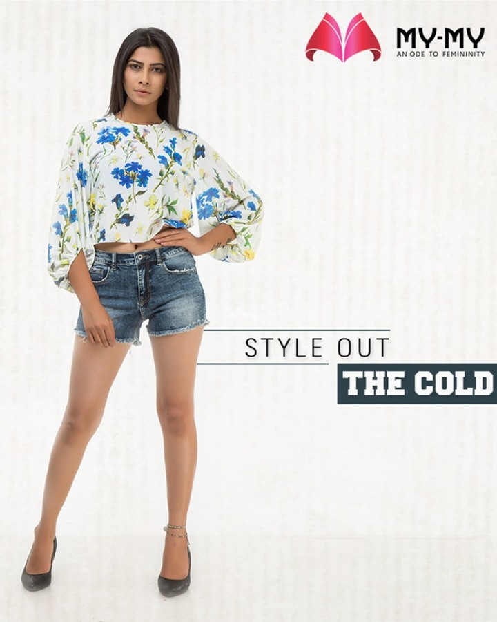 Style out the cold with drool-worthy outfits that you gotta try from My-My  #StyleOutTheCold #ChicAndBold #LookStellar #FascinatingFashionDestination #FemaleFashion #Ahmedabad #WesternWear #BeautifulDresses #Sparkle #Gujarat #India