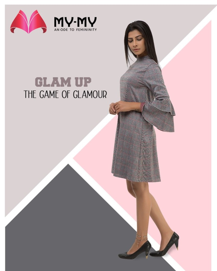 Glam up the game of glamour with the trendy & contemporary apparels from My-My.  #GlamUpGlamourGame #TrendingOutfits #AssortedEnsembles #AestheticPerfection #LookStellar #FascinatingFashionDestination #FemaleFashion #Ahmedabad #EthnicWear #BeautifulDresses #Sparkle #Gujarat #India