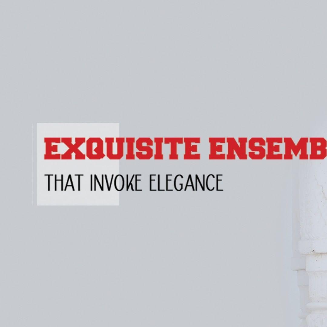 My-My,  ExquisiteEnsembles, WinsomeDresses, InvokeElegance, RedefineSenseOfLuxury, PhilosophyOfDressing, ContemporaryFashion, FemaleFashion, Ahmedabad, FallForFashion, BeautifulDresses, Sparkle, Gujarat, India