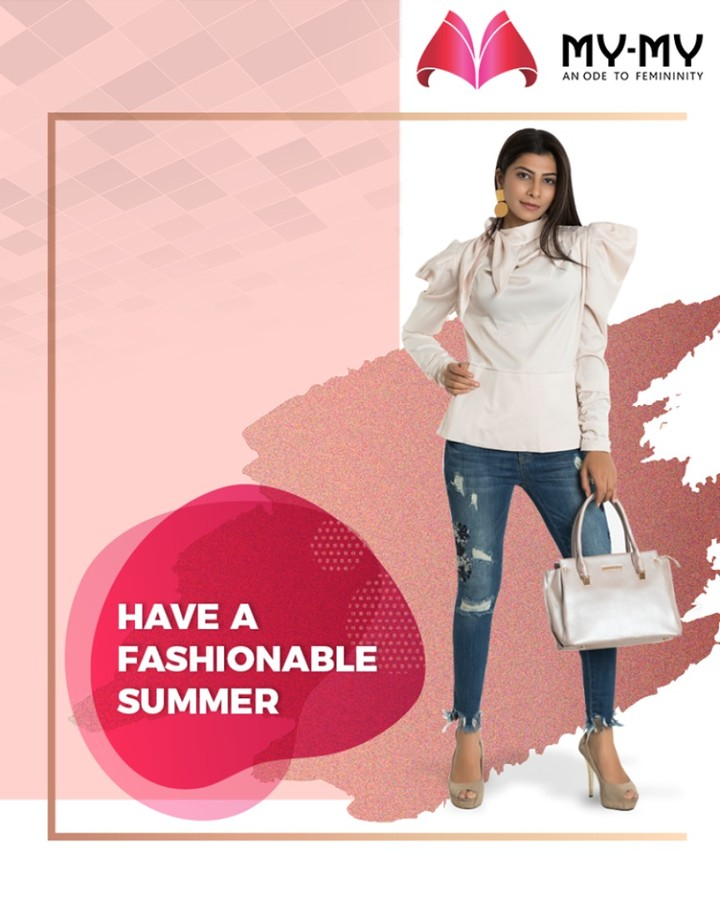 Discover the latest trends of the season and have a fashionable summer 2019!  #FashionableSummer2019 #ExquisiteEnsembles #WinsomeDresses #InvokeElegance #RedefineSenseOfLuxury #PhilosophyOfDressing #ContemporaryFashion #FemaleFashion #Ahmedabad #FallForFashion #Sparkle #Gujarat #India