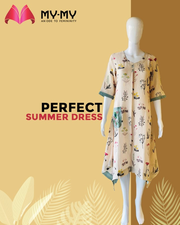 A normal workday or an outing with your friends, this outfit is perfect for any occasion.  #TrendingOutfits #AssortedEnsembles #FemaleFashion #SummerColours #SummerWardrobe #Ahmedabad #MYMY #Gujarat #India