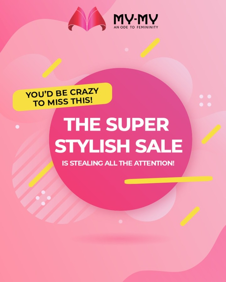 Grab great deals cosmetics, inner-wear, handbags, and more!  #SuperStylishSale #Sale #MyMySale #Sale2019 #MyMy #MyMyCollection #ExculsiveEnsembles #ExclusiveCollection #Ahmedabad #Gujarat #India
