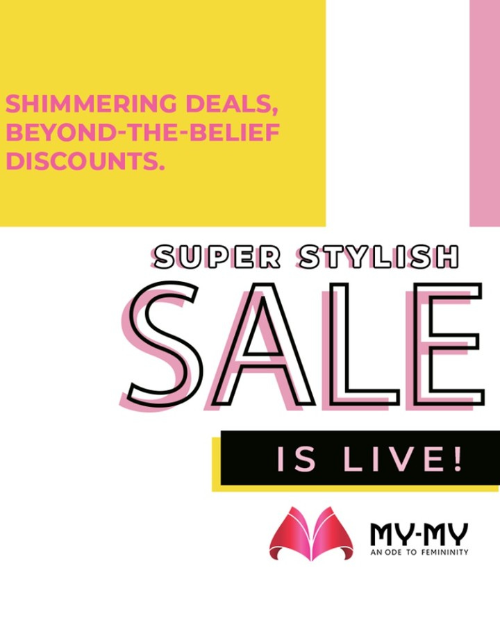 Super Stylish Sale is a perfect cure to keep the worries at distant!  #SuperStylishSale #Sale #SpecialOffer #MyMy #MyMyCollection #ExculsiveEnsembles #ExclusiveCollection #Ahmedabad #Gujarat #India