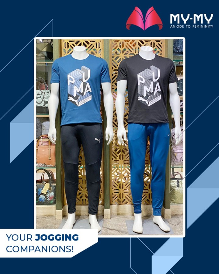 Keep your jogging sessions flexible & comfortable by grabbing these jogging companions from My My!  #DroolworthyDesign #TrendingOutfits #AssortedEnsembles #FemaleFashion #Ahmedabad #MYMY #Gujarat #India