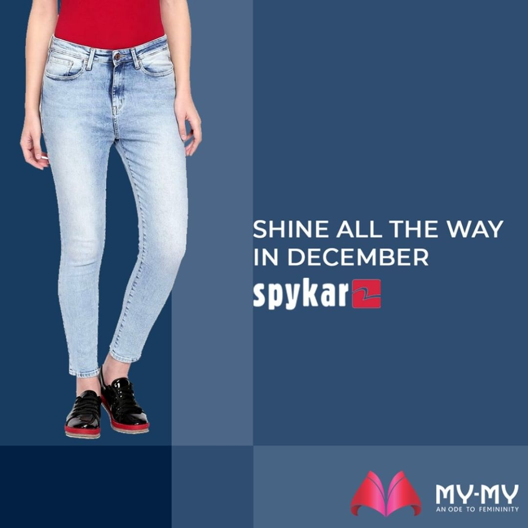 Some says it's the jeans, some says it's her swag!  Avail the BOGO offer on #SpykarWomenDenimCollection at My My right away.  #MyMy #MyMyCollection #ExculsiveEnsembles #ExclusiveCollection #Ahmedabad #Gujarat #India