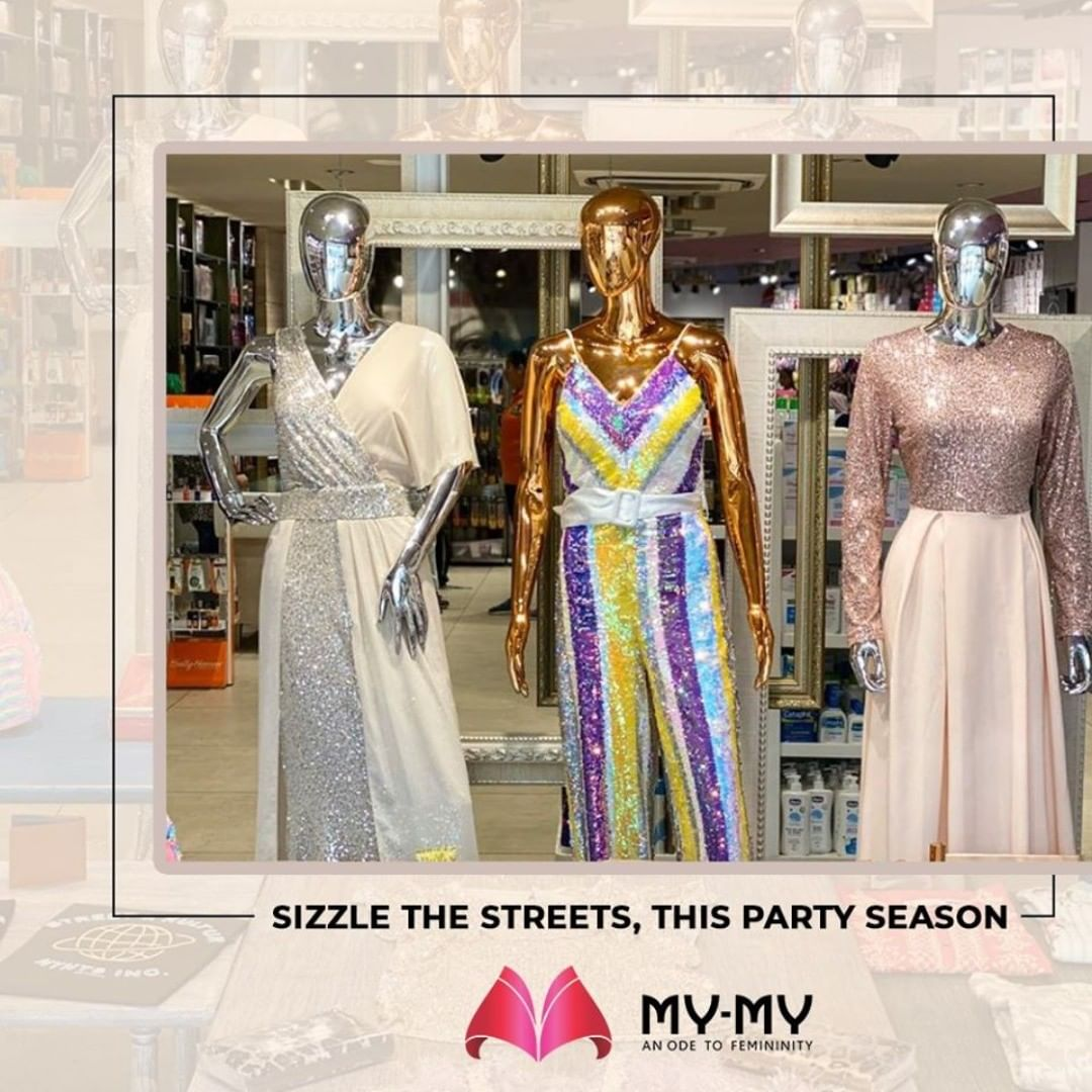 Sizzle the streets, this peppy party season with our happening edits!  #MyMy #MyMyCollection #femalefashion #womensstyle #studentfashion #womensfashionwear #urbanfashion #fashionmotivation #womenclothingstore #womensfashionrange #womensurbanfashion #fashion #vogue #clothes #ExculsiveEnsembles #ExclusiveCollection #Ahmedabad #Gujarat #India
