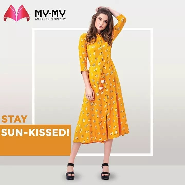 Radiate radiancy, this #Uttarayan2020 !  Channel the sunshine diva in you by donning this ravishingly sun-kissed outfit!  #MyMy #MyMyCollection #femalefashion #womensstyle #studentfashion #womensfashionwear #urbanfashion #fashionmotivation #womenclothingstore #womensfashionrange #womensurbanfashion #fashion #vogue #clothes #ExculsiveEnsembles #ExclusiveCollection #Ahmedabad #Gujarat #India