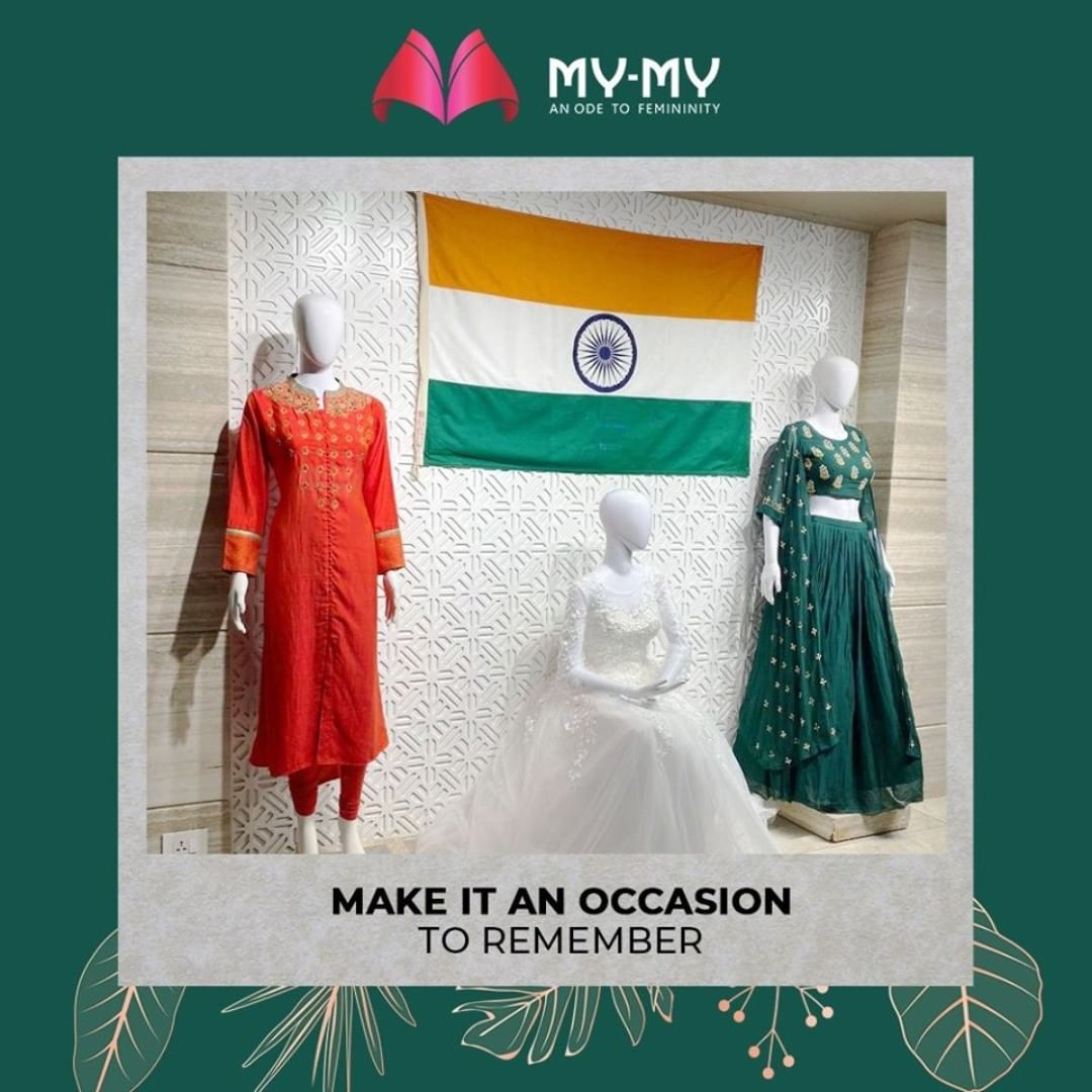 The style statement desired by everyone wherever you go!  #MyMy #MyMyAhmedabad #Fashion #Ahmedabad