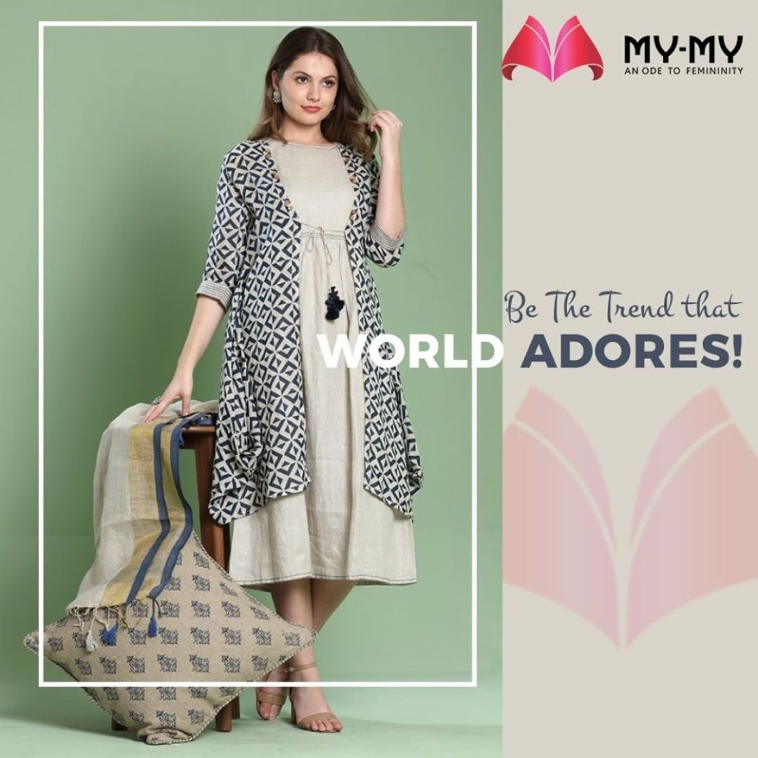 Make People Adore You.  #MyMy #MyMyCollection #femalefashion #womensstyle #studentfashion #womensfashionwear #urbanfashion #fashionmotivation #womenclothingstore #womensfashionrange #womensurbanfashion #fashion #vogue #clothes #ExculsiveEnsembles #ExclusiveCollection #Ahmedabad #Gujarat #India