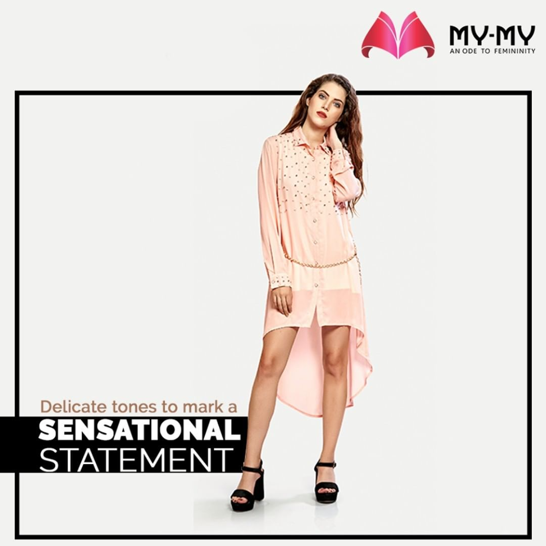 Make no mistake while getting up for the evening gatherings. Don the delicate tones that will mark a sensational statement.  #MyMy #MyMyCollection #femalefashion #womensstyle #studentfashion #womensfashionwear #urbanfashion #fashionmotivation #womenclothingstore #womensfashionrange #womensurbanfashion #fashion #vogue #clothes #ExculsiveEnsembles #ExclusiveCollection #Ahmedabad #Gujarat #India