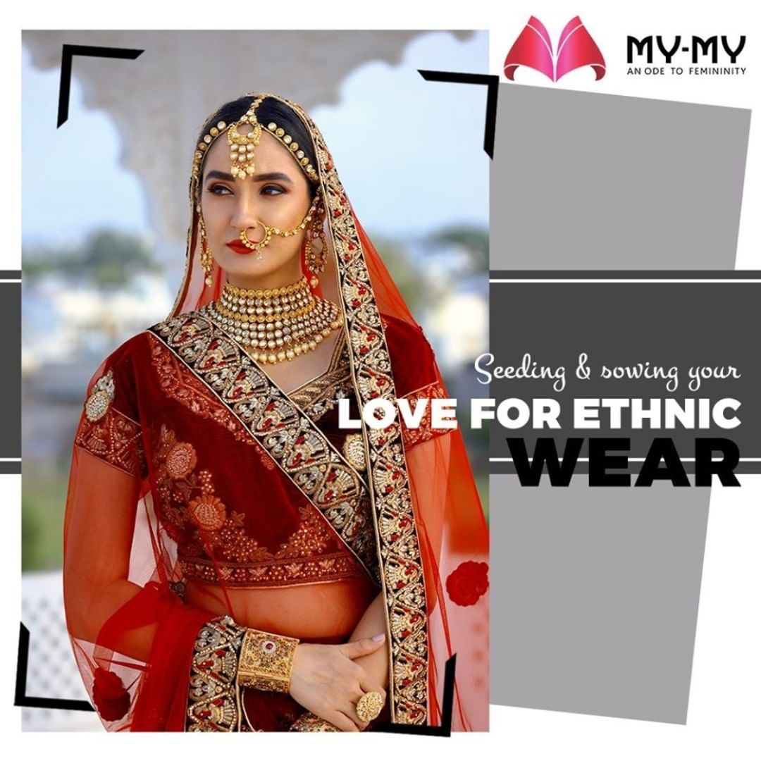 The traditional wears often express your compassion for your culture. MyMy envisages seeding & sowing your love for ethnic wear.  #MyMy #MyMyCollection #femalefashion #womensstyle #studentfashion #womensfashionwear #urbanfashion #fashionmotivation #womenclothingstore #womensfashionrange #womensurbanfashion #fashion #vogue #clothes #ExculsiveEnsembles #ExclusiveCollection #Ahmedabad #Gujarat #India
