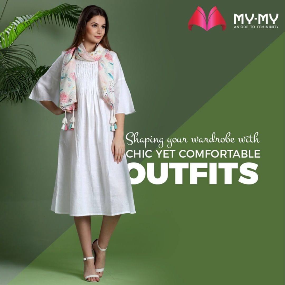 Revamp your wardrobe and personality with chic outfits from My-My  #MyMy #MyMyCollection #Comfy #Classic #Comfortableoutfits #WesternOutfits #vibrantcolors #ExculsiveEnsembles #ExclusiveCollection #Ahmedabad #Gujarat #India