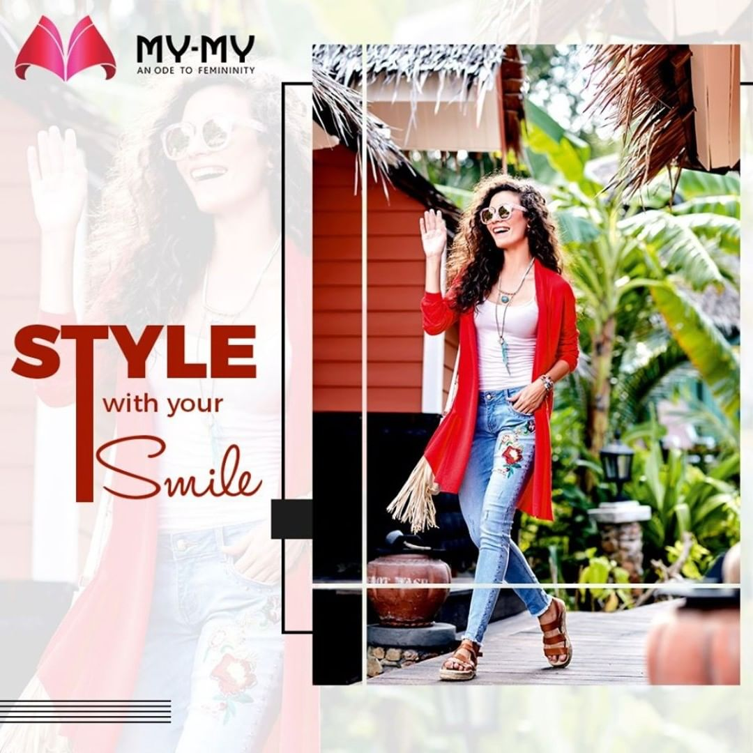 Your way of styling should reflect your expression of happiness and joy.  #MyMy #MyMyCollection #Comfy #Classic #Comfortableoutfits #WesternOutfits #vibrantcolors #ExculsiveEnsembles #ExclusiveCollection #Ahmedabad #Gujarat #India